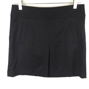 JCREW Pleated Wool Mini Skirt